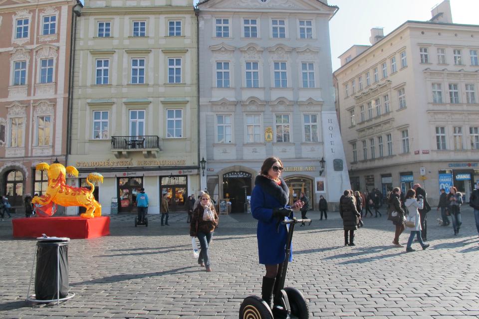 Het toerisme neemt verschillende vormen aan in Praag.