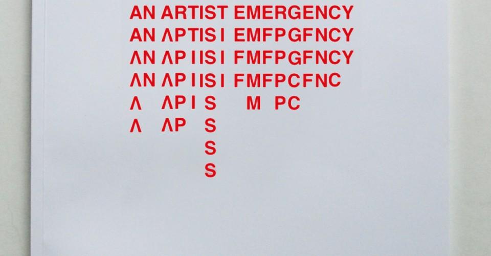 4 Eva Schippers OOE An Artist Emergency
