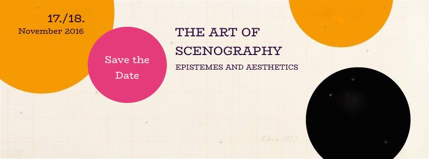 """International Conference """"The Art of Scenography"""" (LMU / TWM)"""